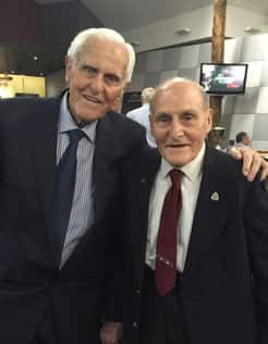 Jack Jones and Harold Lambert played in the 1946 premiership together. 7a7734092935