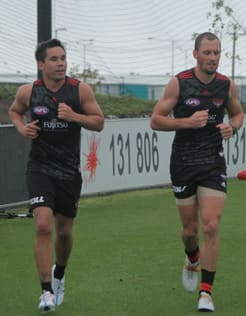 Stokes and Kelly have five premiership medals between them.