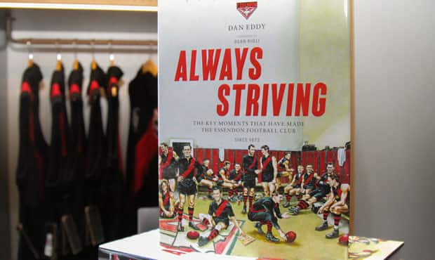 Always Striving is available from the Bomber Shop.