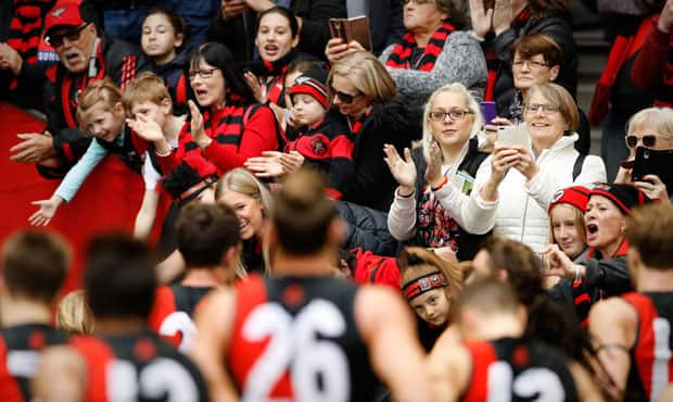 Essendon posted a record membership figure in 2017.