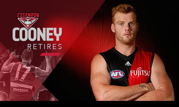 Adam Cooney will retire after his 13th season.