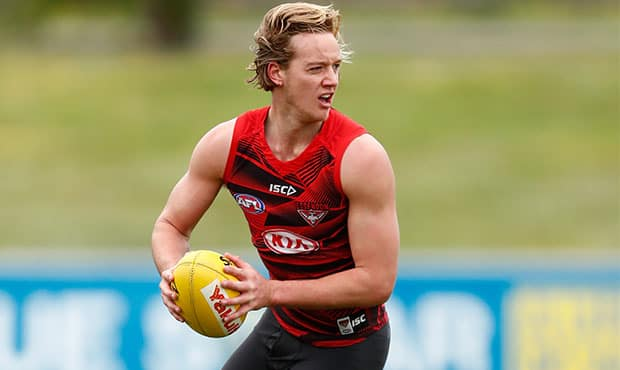 Darcy Parish is focusing on his aerobic ability this pre-season