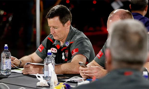 John Worsfold at the 2016 NAB AFL Draft