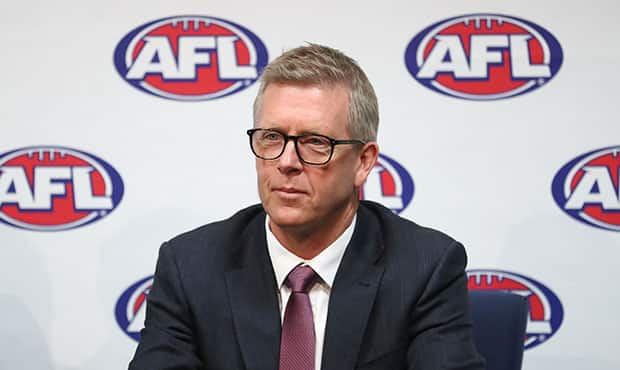 AFL General Manager Football Operations Steven Hocking