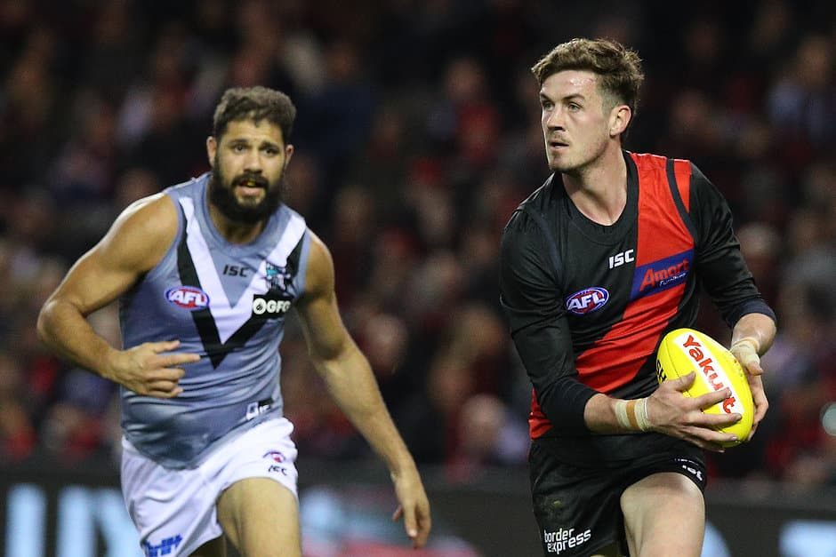 Michael Hartley has left the Bombers. All pictures: AFL Photos - AFL,Essendon Bombers,Delistings,Retirements,Michael Hartley,Hawthorn Hawks,Game,Update,News