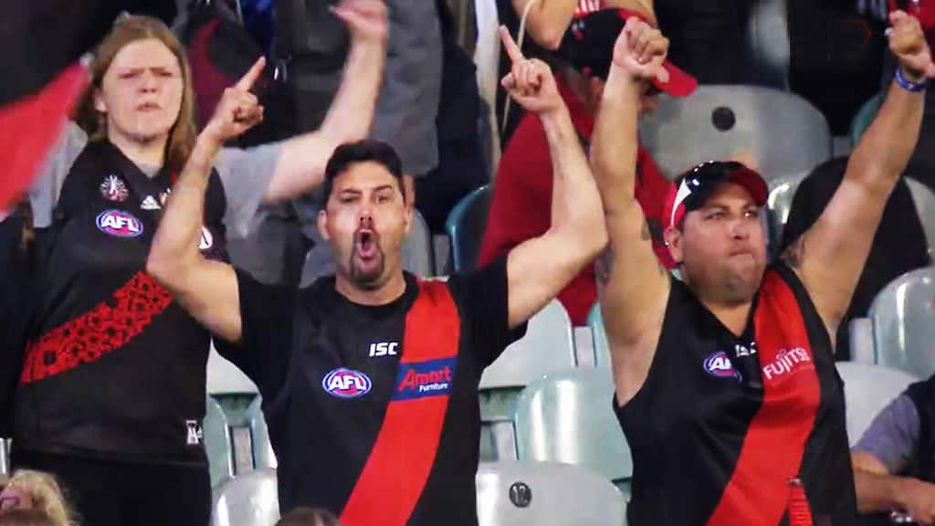 Barrett: Many forms of booing but Essendon's was 'pathetic and selfish'