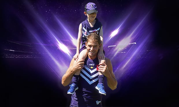 Host a Starlight Purple Haze day for your chance to WIN a Football clinic run by Fremantle players for up to 100 students.