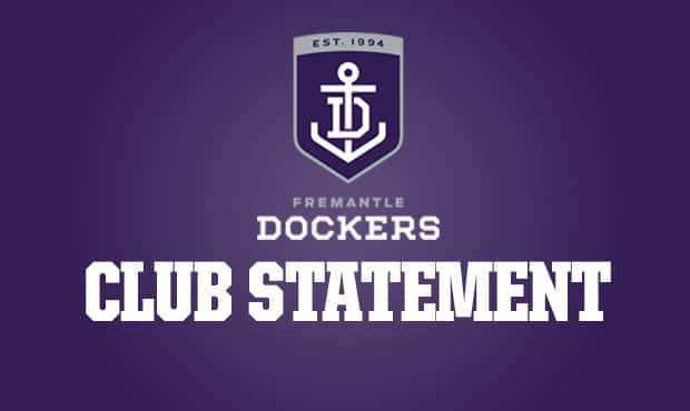 Fremantle has made a club statement about Harley Bennell.