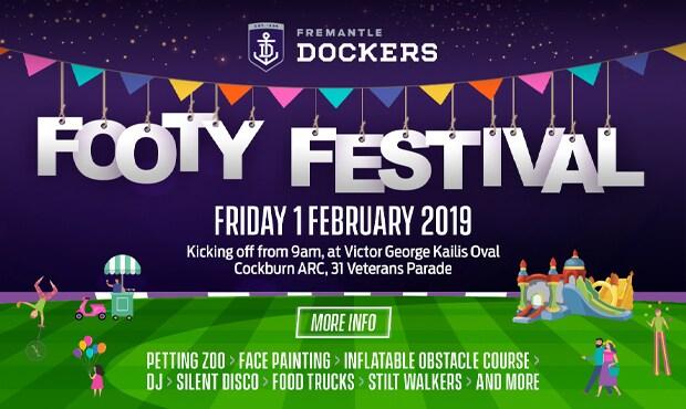 Official Afl Website Of The Fremantle Dockers