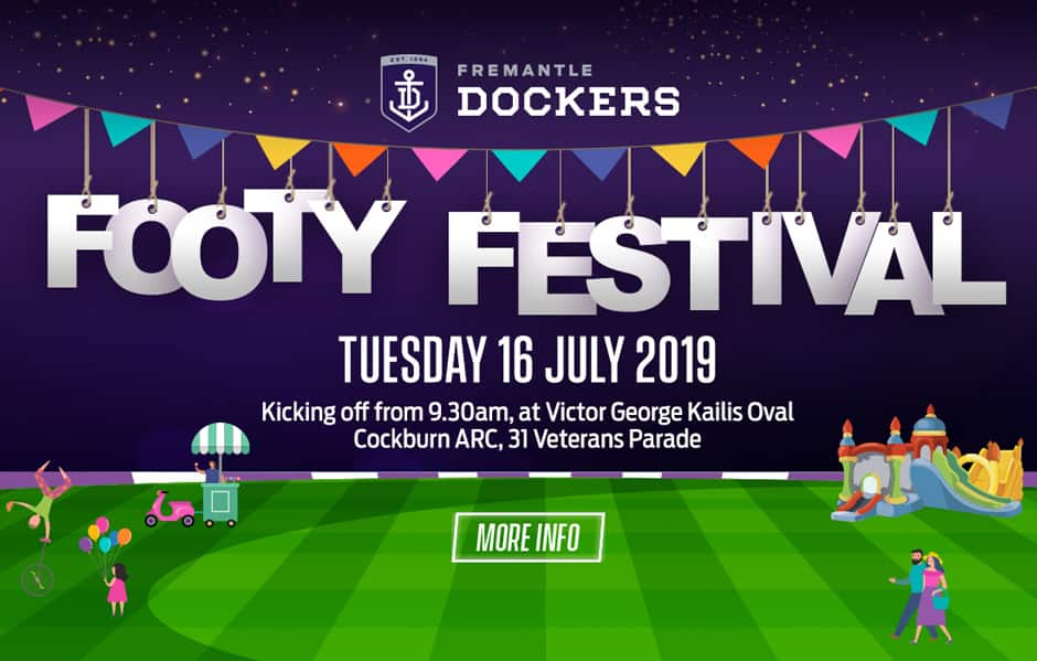 Get down today! - Fremantle,Fremantle Dockers,AFL