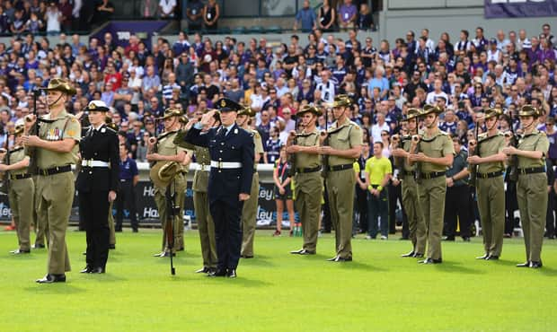 This year's commemorations will take place in two parts, pre-match and at half-time.