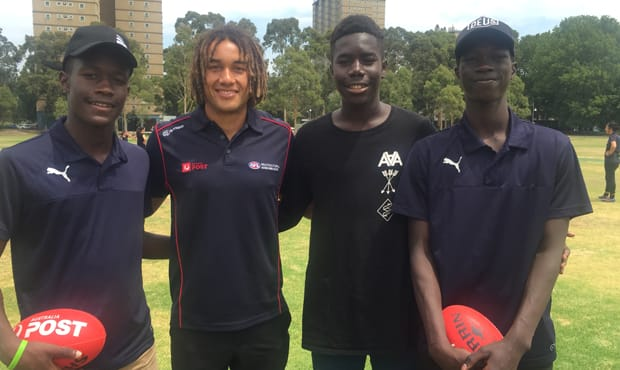 Tendai Mzungu says he is proud to be a representative of diversity in Australian football.