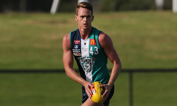 Ryan Nyhuis will line up for Peel Thunder on Saturday.
