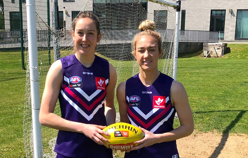 AFLW: Irish signings' need for speed