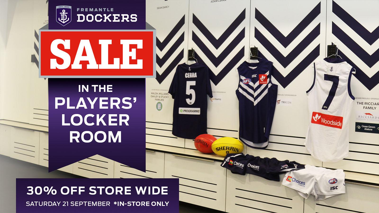 The locker room sale is back!