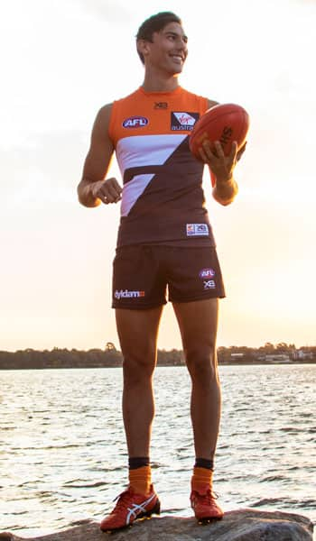 Isaac Cumming will make his debut for the GIANTS on Saturday. - GWS Giants,AFL,Isaac Cumming