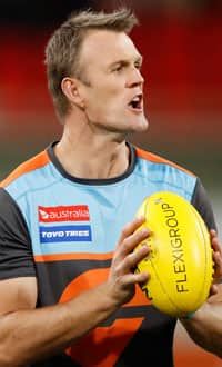 Assistant coach Dean Brogan will depart the GIANTS. - Dean Brogan,GWS Giants