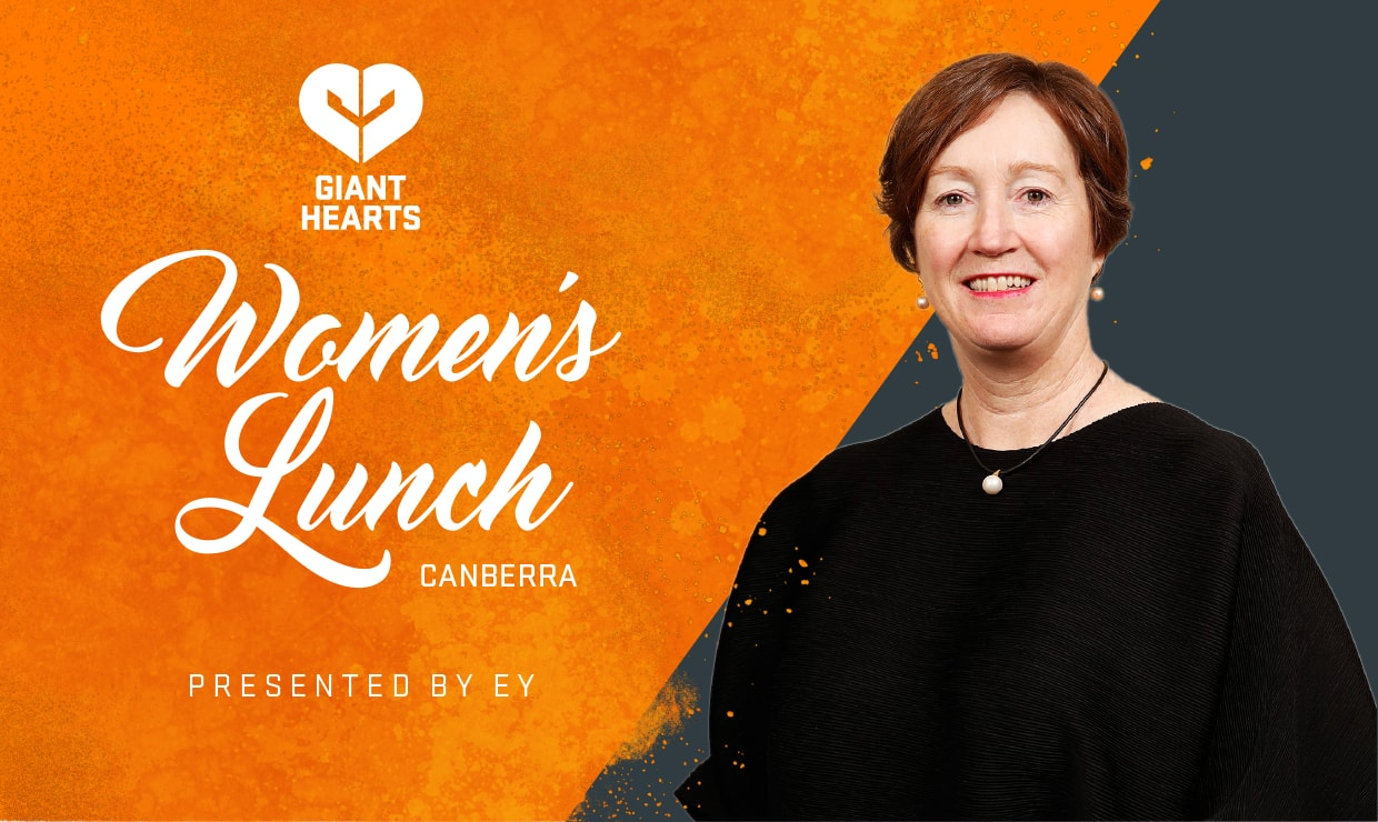 AFL Commissioner Major General Simone Wilkie AM will be the key note speaker. - GWS Giants,AFLW,AFL,UNSW Canberra Oval