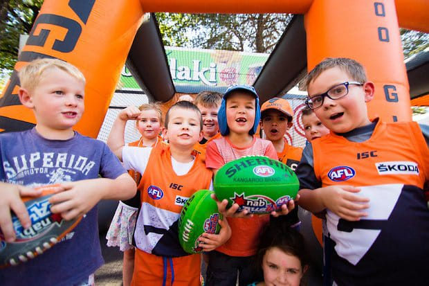 Get along to the GIANTS UNSW Canberra Fan Day following the Friday night blockbuster against the Western Bulldogs.