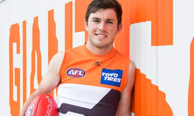 Draftee Brent Daniels will be sidelined with injury. - GWS Giants,Brent Daniels