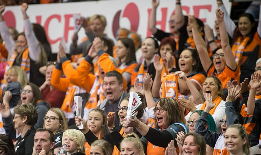 Join with your fellow GIANTS fans to cheer on GIANTS Netball in the Grand Final this weekend!