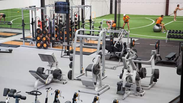A Peek Inside The GIANTS New Gym At Learning Life Centre In Sydney Olympic