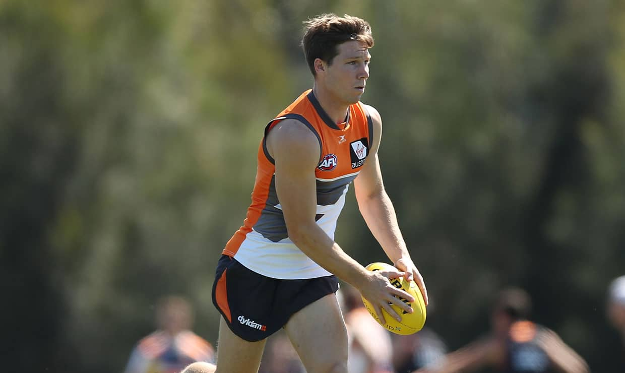 Toby Greene won't miss any of the GIANTS' pre-season. - International Rules,Toby Greene