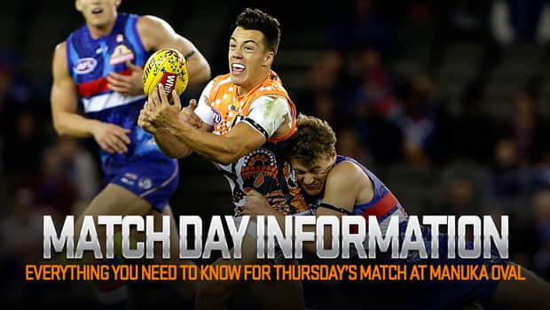 All the info you need for Thursday night's NAB Challenge game against the Western Bulldogs at Maunka Oval.