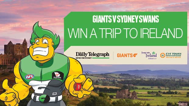 Win a trip to Ireland just by being at the Battle of the Bridge this Saturday!