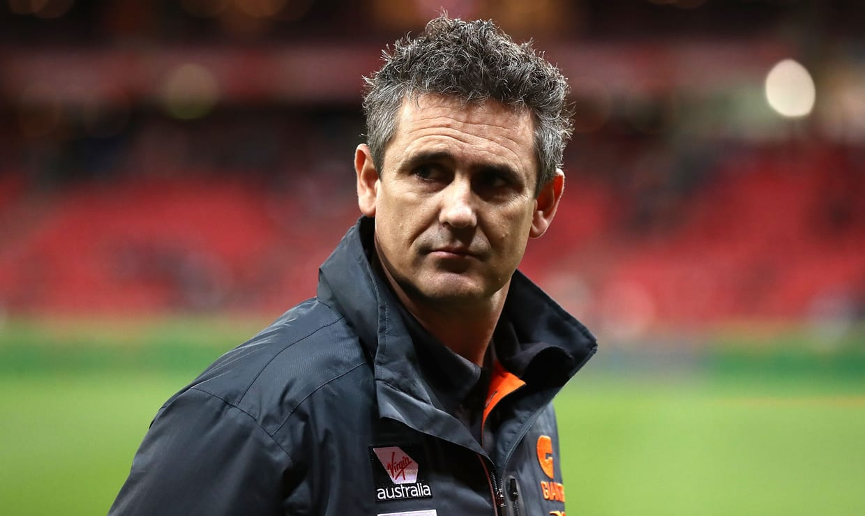 Leon Cameron was upbeat despite the loss to the Swans on Saturday night.
