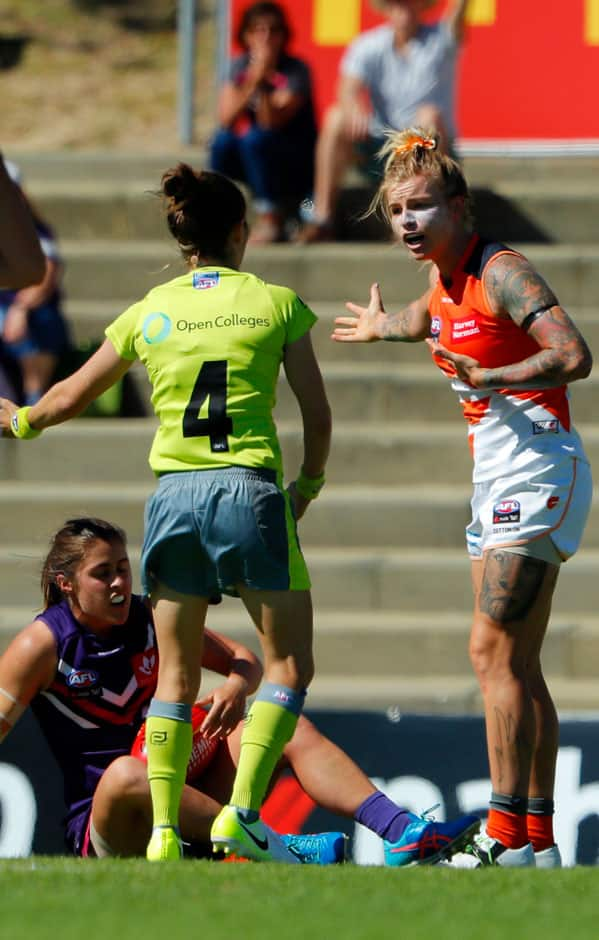 The rules changes for the 2019 NAB AFLW season have been released. - GWS Giants,AFLW