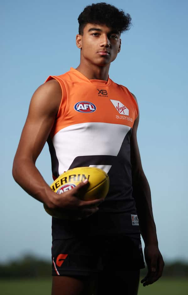 Callum Brown is settling in to life in the orange and charcoal. - GWS Giants,Callum Brown,AFL