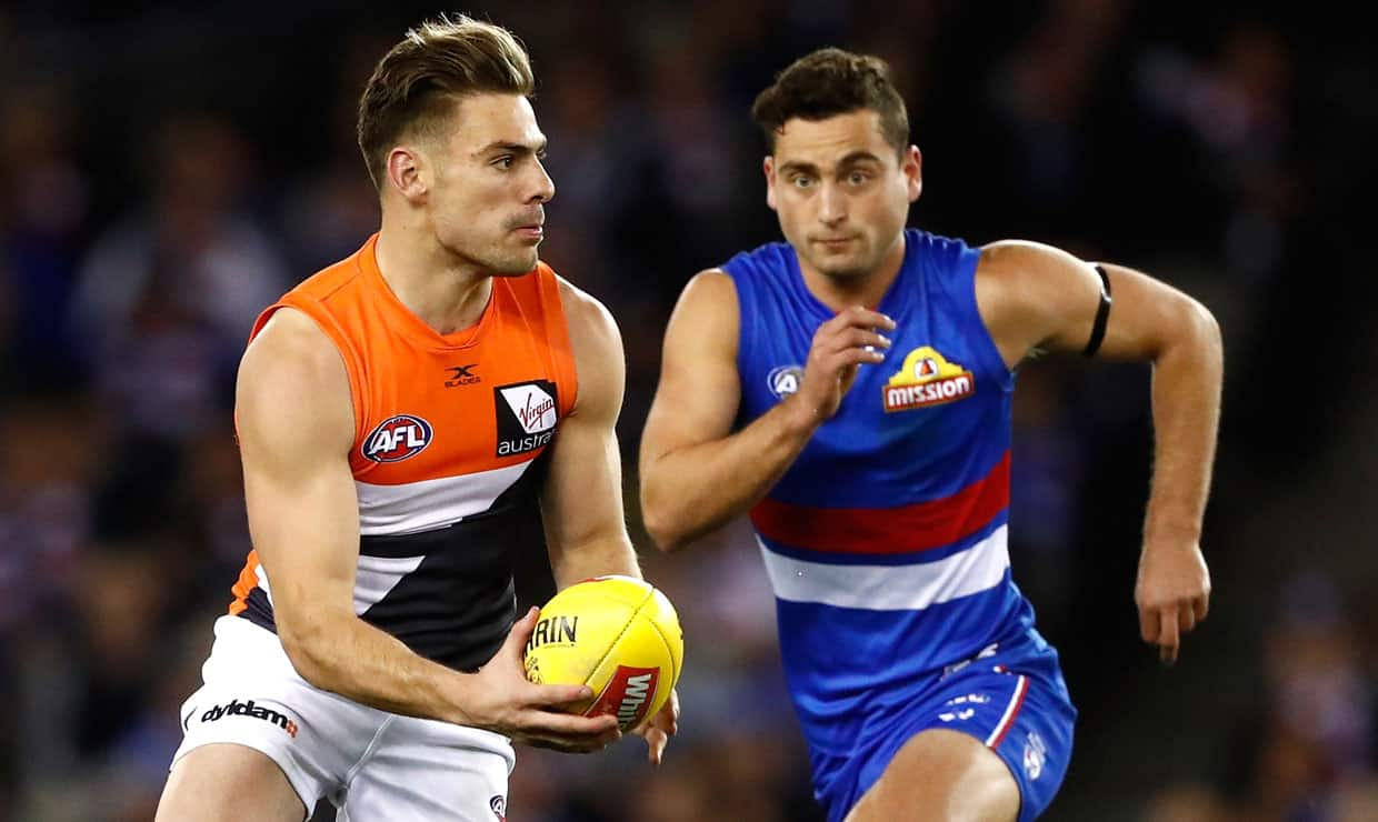 The GIANTS open their 2018 season against the Western Bulldogs at UNSW Canberra Oval on Sunday. - AFL,GWS Giants,Western Bulldogs,UNSW Canberra Oval