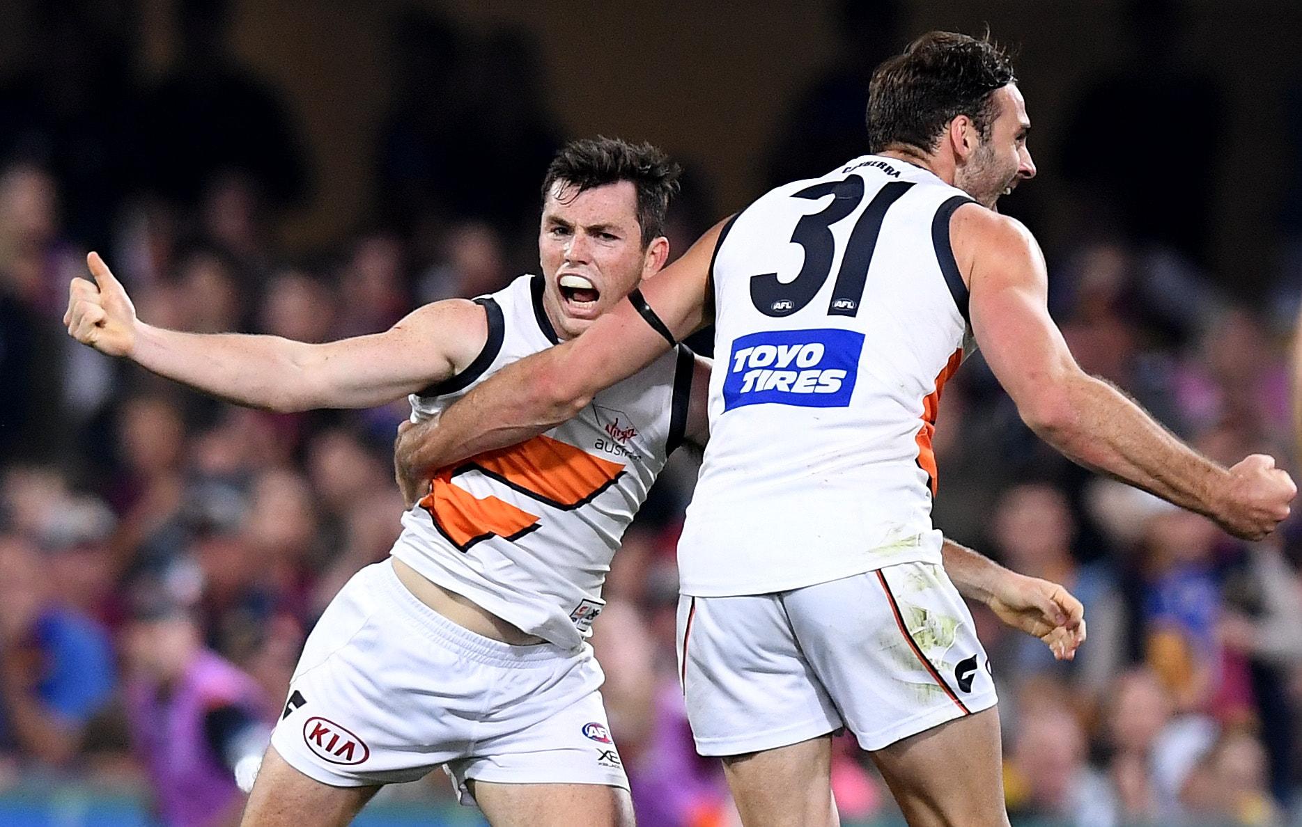 AFL 2019 Second Semi Final - Brisbane v GWS
