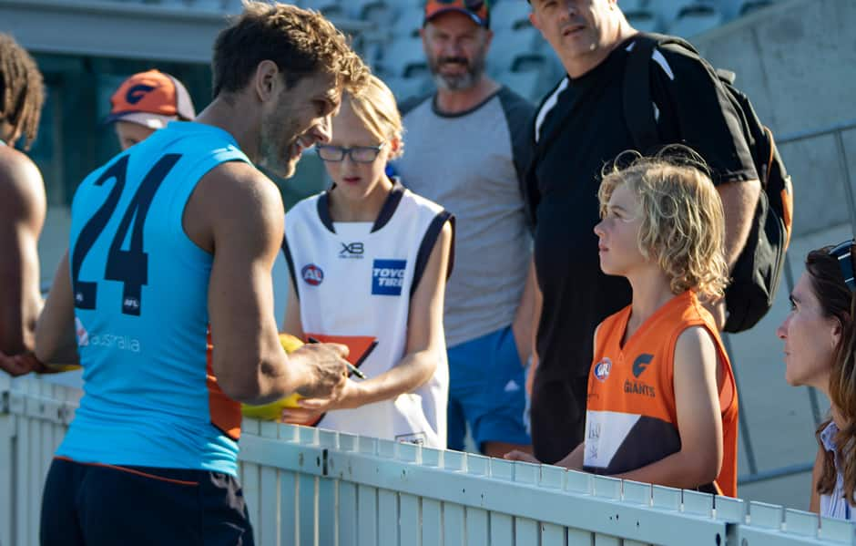The GIANTS will hold an open training session in Canberra on Friday. - AFL,GWS Giants,UNSW Canberra