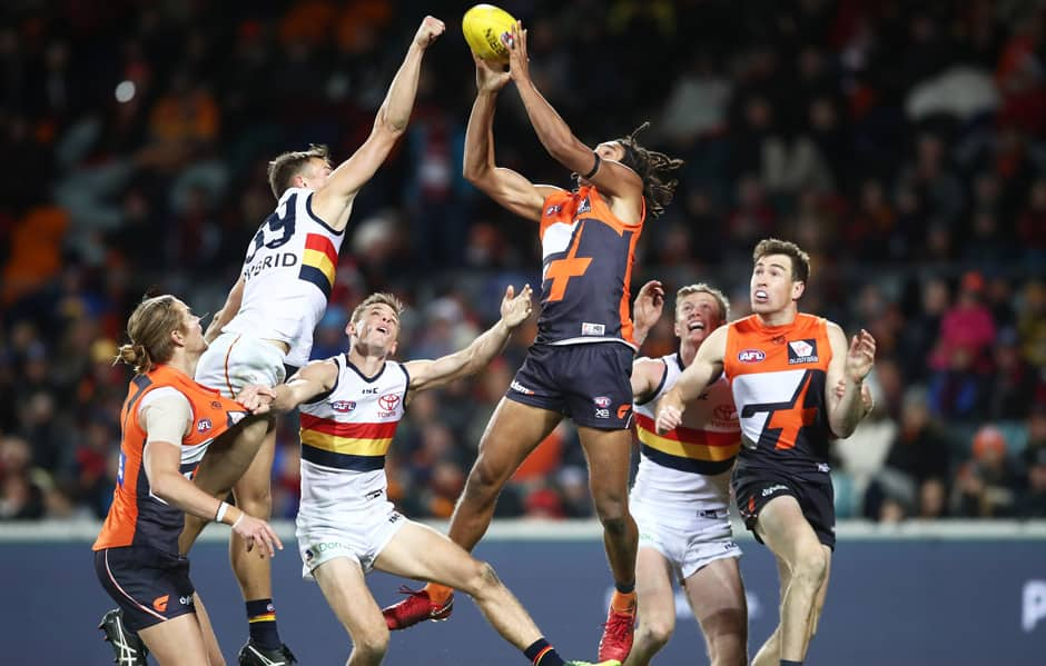 The GIANTS will take on the Crows at UNSW Canberra Oval on Friday night in the JLT Community Series. - AFL,JLT Series,GWS Giants,Adelaide Crows,UNSW Canberra Oval
