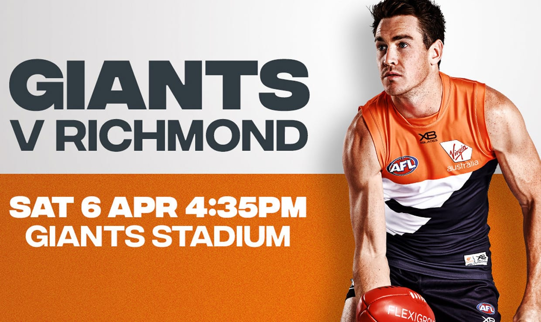 Match Day Information: Round - GWSGIANTS com au