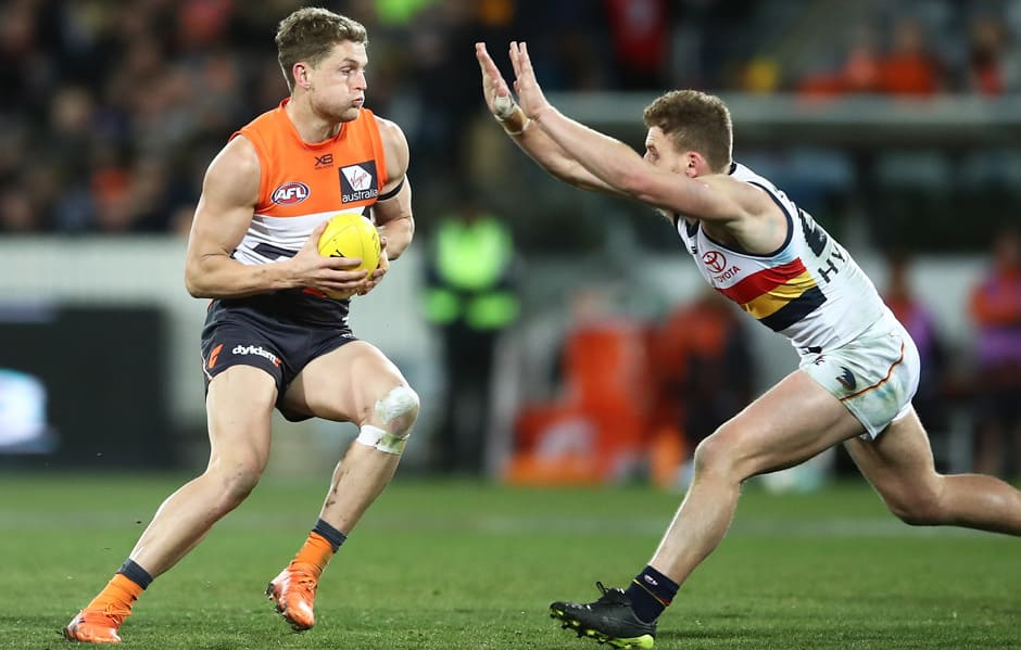 The GIANTS will take on the Crows at UNSW Canberra Oval in Friday night's JLT Community Series clash. - AFL,JLT Series,GWS Giants,Adelaide Crows,UNSW Canberra Oval