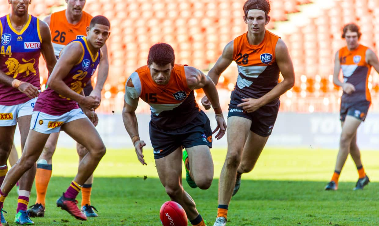 Matt Kennedy was one of the GIANTS Reserve's stand out performers in a heartbreaking loss to Brisbane.