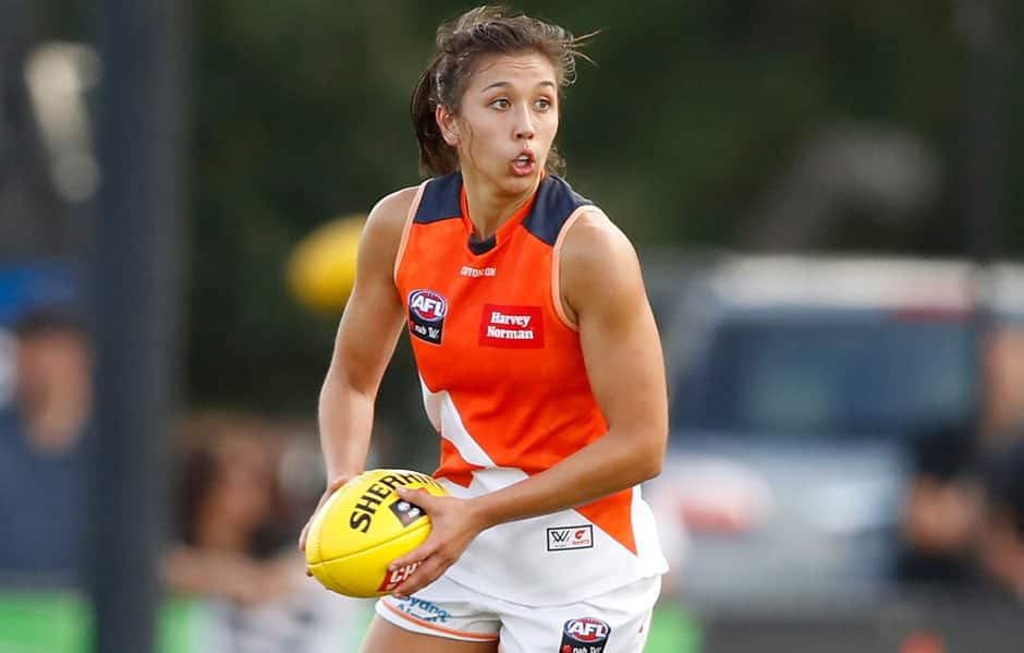 ${customImageCaption} - AFLW,Rebecca Beeson,GWS Giants,Hawthorn,Hawthorn Hawks,VFL