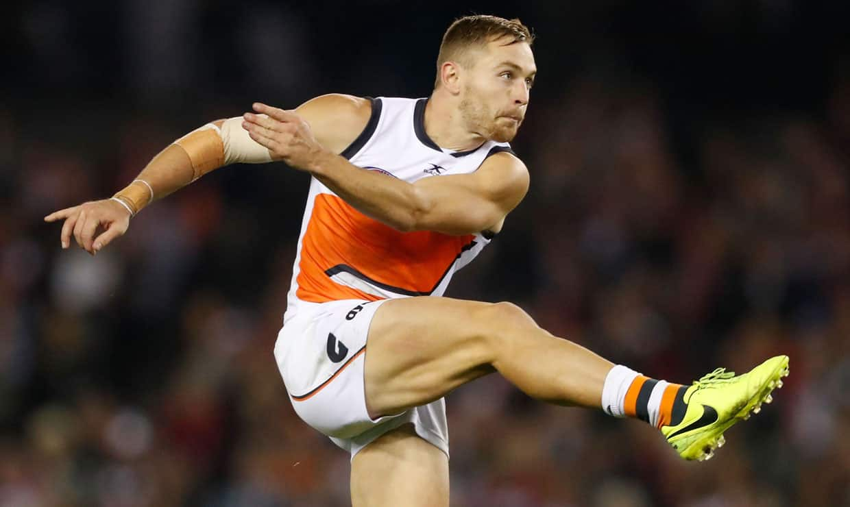 Forward Devon Smith will become a Bomber as the GIANTS complete a trade with Essendon. - Trade,Essendon Bombers,Devon Smith