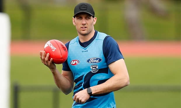 Harry Taylor trained with the main group this week and will return via the VFL on Saturday - Geelong Cats,Harry Taylor