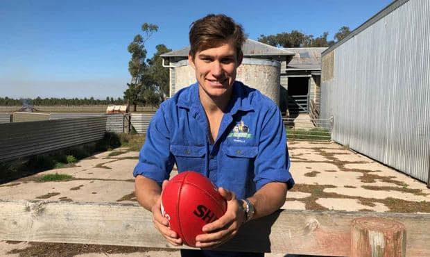 House sees his long-term future in farming.  - Geelong Cats,Timm House