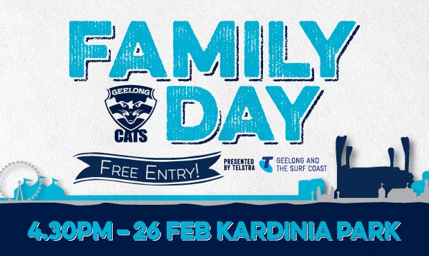 Our Family Day on the 26th Feb is the perfect day out before our first NAB Challenge game!