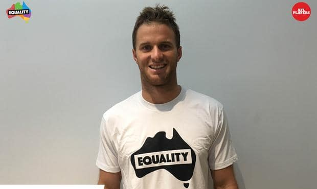 Lachie Henderson supports marriage equality