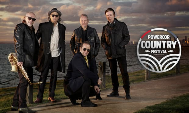 The Black Sorrows will be performing at the Powercor Country Festival - Geelong Cats