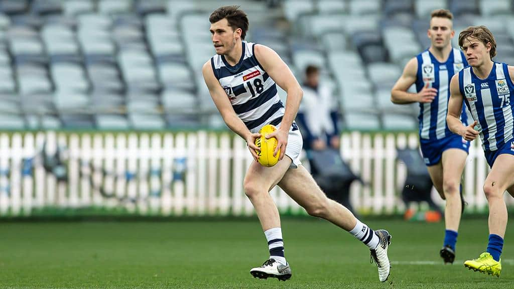 Charlie Constable was at his devastating best against North Melbourne on Saturday. - Geelong Cats,Brisbane Lions
