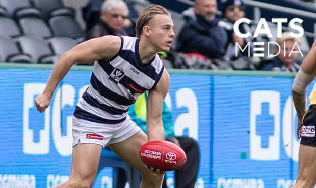 Jackson McLachlan is on a rapid rise through the ranks. - VFL,Geelong Cats