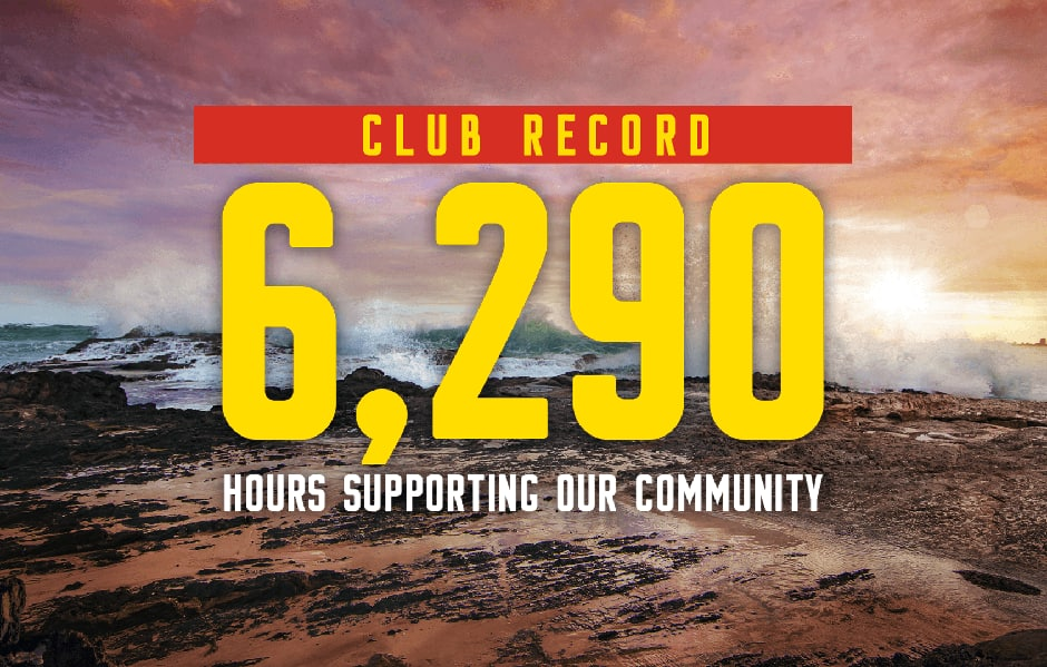 SUNS set club record in support of the community