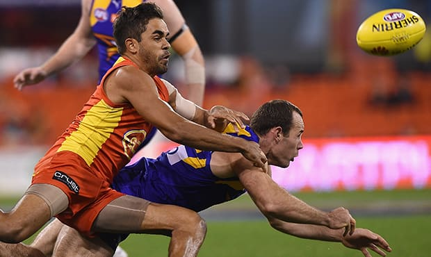 AFL 2015 Rd 18 - Gold Coast v West Coast